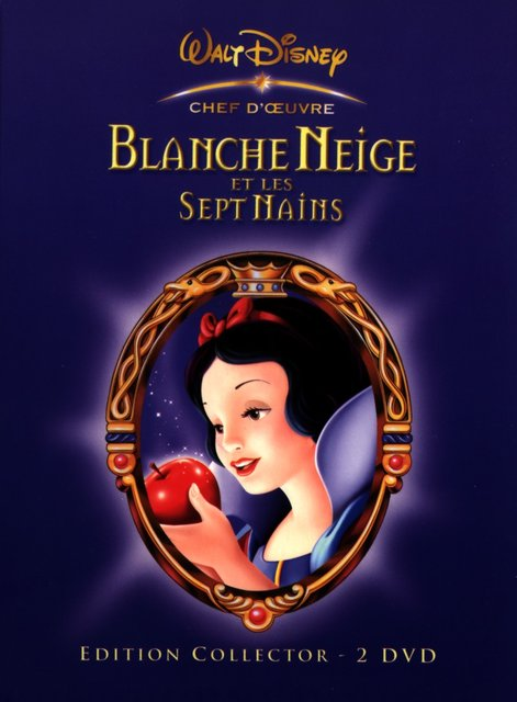 Voir en grand la jaquette de Blanche Neige et les 7 nains (collector)