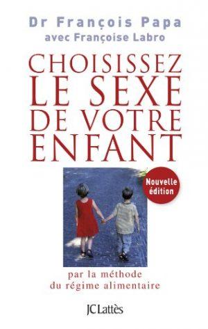 Choisissez le sexe de votre enfant