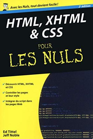 HTML XHTML & CSS pour les nuls