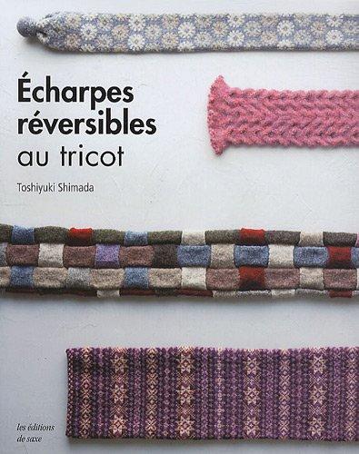 Echarpes réversibles au tricot